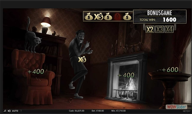игра The Invisible Man от Netent