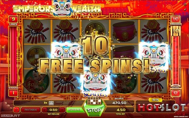 Окунитесь в мир Востока с новым слотом Emperors Wealth от GameArt