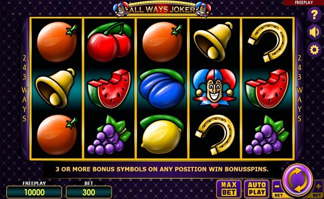 Amatic's new game released: All Ways Joker