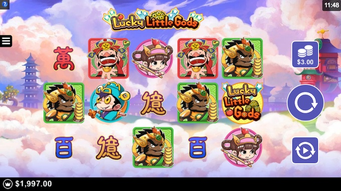 Lucky Little Gods by Microgaming