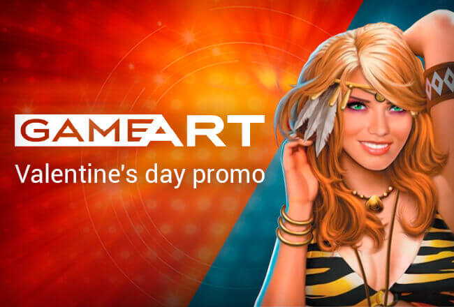 Game Art Releases Promo dedicated to St Valentine's Day