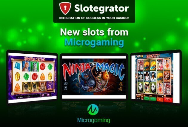 The newest games from Microgaming in June