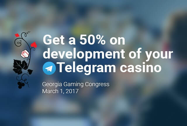 Participate in Slotegrator's special offer and win a 50% discount on development of your own Telegram casino