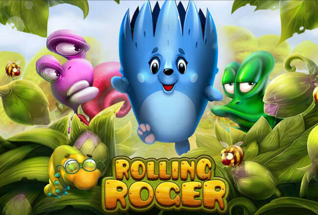 A brave urchin and golden acorns: Habanero released a fresh Rolling Roger slot game