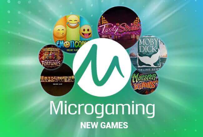 Overview of new games from Microgaming