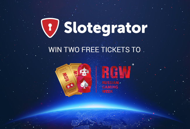 A draw for free tickets to RGW Moscow from Slotegrator
