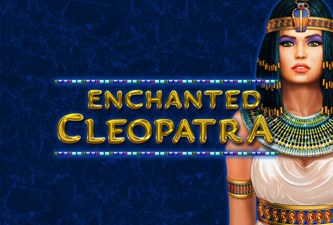 Egypt Themed Slot Game Of Enchanted Cleopatra From Amatic