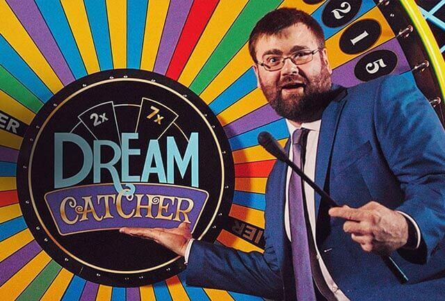 The first live Dream Catcher Lucky Wheel by Evolution Gaming