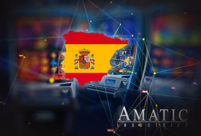Amatic receives online license from Spain