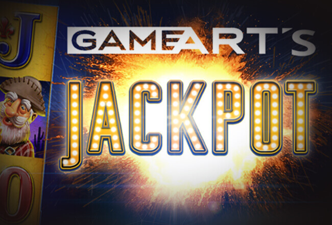 GameArt to launch jackpot games