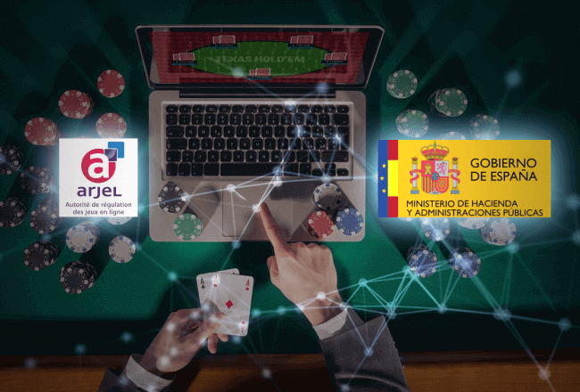 France and Spain reached an agreement in terms of the European convention for shared online poker liquidity