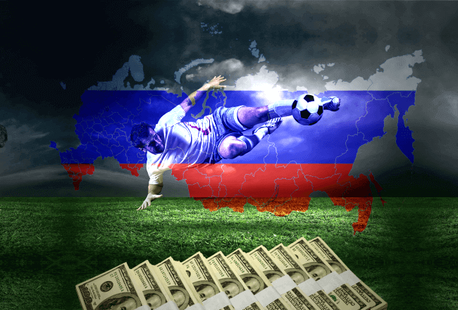 Russian betting market estimated to triple over the next 5 years