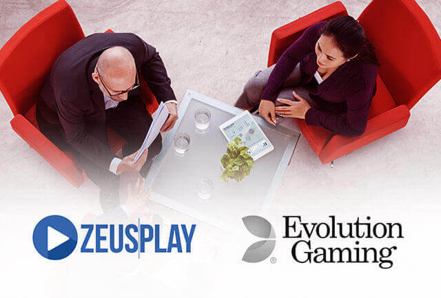 Slotegrator's newly made partners – Evolution Gaming and ZeusPlay