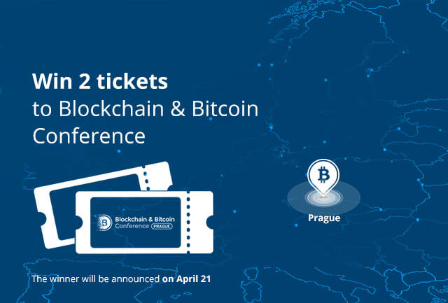 Competition for two tickets to Blockchain & Bitcoin Conference