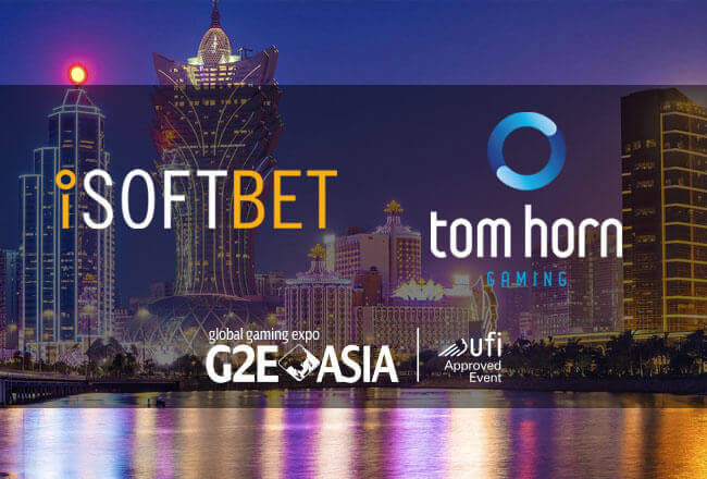 Tom Horn and iSoftBet presented their products at G2E Asia 2017