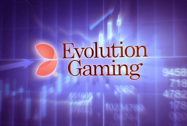 The operating surplus of Evolution Gaming increased by 56% during the 1st half of the year