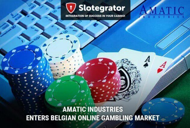 Amatic Industries Enters Belgian Online Gambling Market
