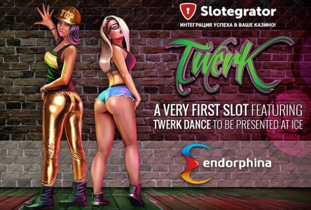 Online slot Twerk from Endorphina will be presented on ICE 2016