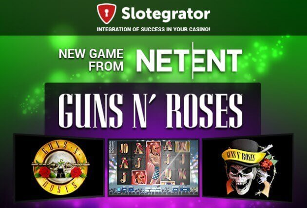 Guns N' Roses: New Game From NetEnt