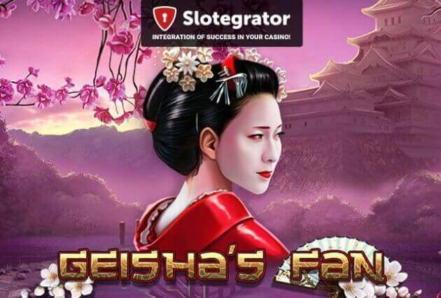 Geisha's Fan от Tom Horn Gaming - технология ручной графической росписи