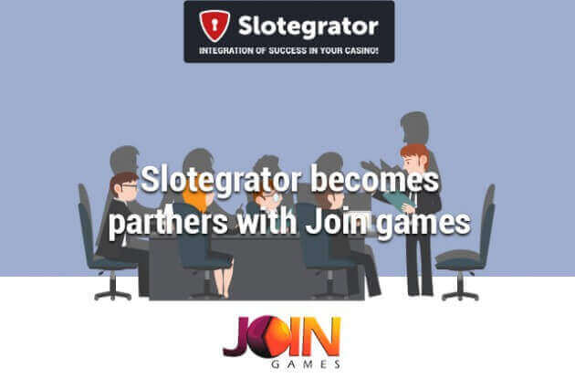 Slotegrator's new partner – Join Games
