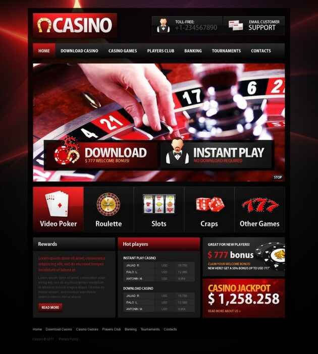 Importance of online casino design