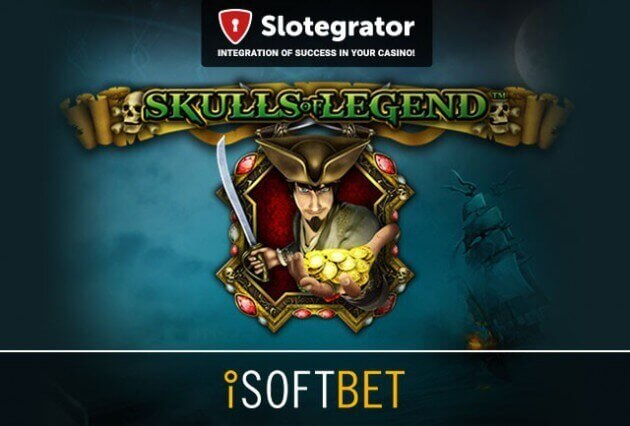 Сентябрьская новинка от iSoftBet: онлайн-слот Skulls of Legend