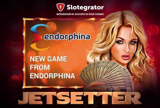 Новая игра от компании Endorphina - Jetsetter