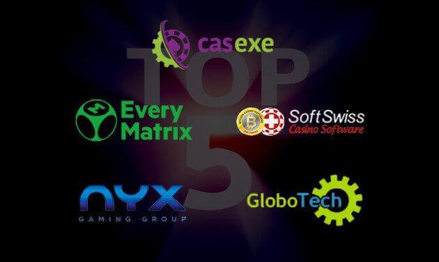 ТОП-5 игровых платформ для онлайн-казино