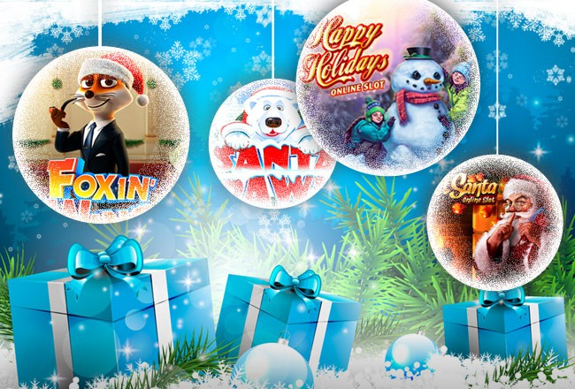 Get into holiday cheer with our Christmas slots collection