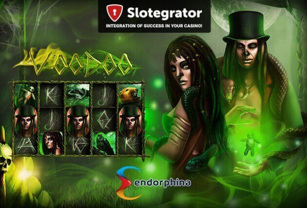 Magical slot Voodoo by casino game developer Endorphina