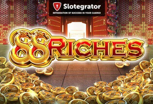 Money-bags in your hands with the brand - new 88 Riches by GameArt