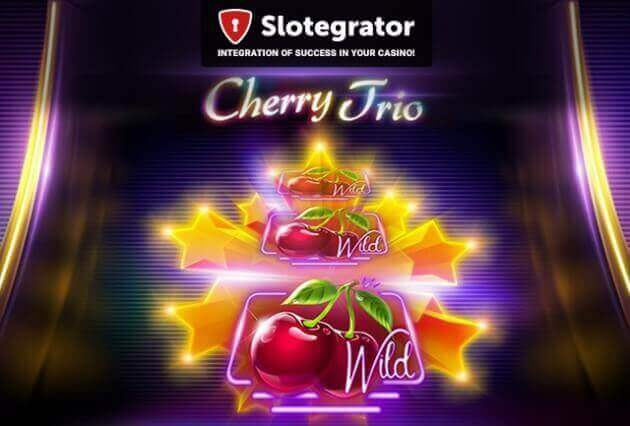 "iSoftBet launched a new ""fruity"" slot Cherry Trio"