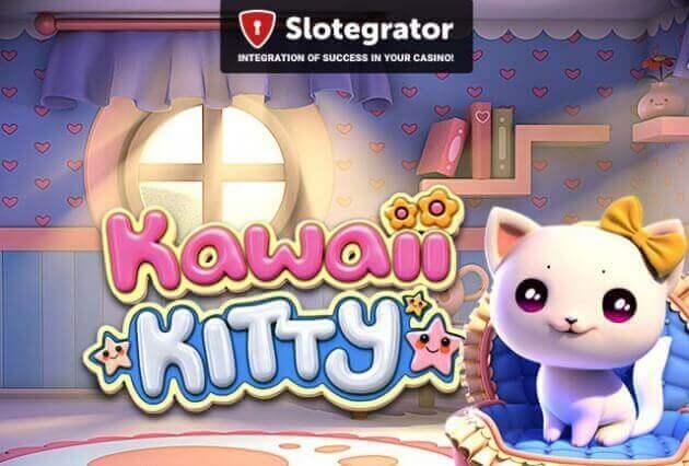 BetSoft выпустил милый «кошачий» 3D-слот Kawaii Kitty