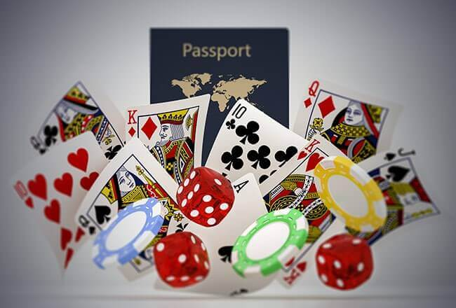 Why do online casinos request passport scans