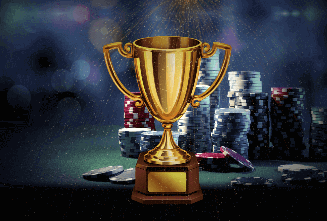 Prize funds in online casino tournaments