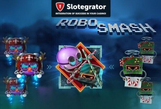 iSoftBet запускает эксклюзивную Christmas-версию новинки Robo Smash