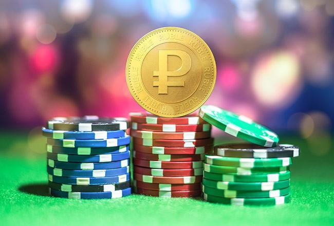 на рубли онлайн казино
