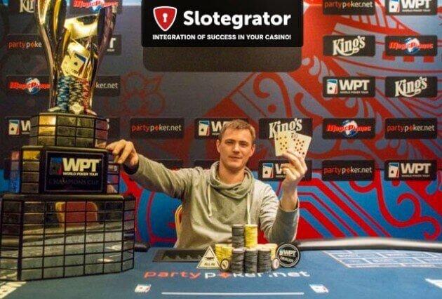 Украинец Олег Васильченко выиграл турнир топ-уровня WPT в Праге