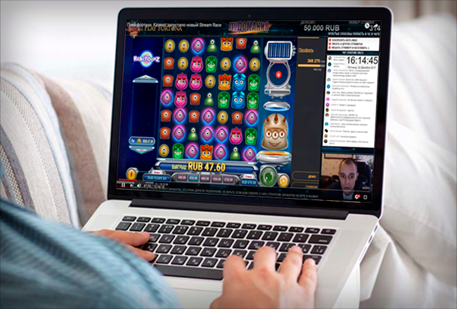 Game streaming as a tool for casino promotion