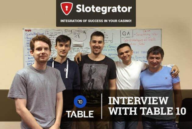 Table 10 – partner Slotegrator