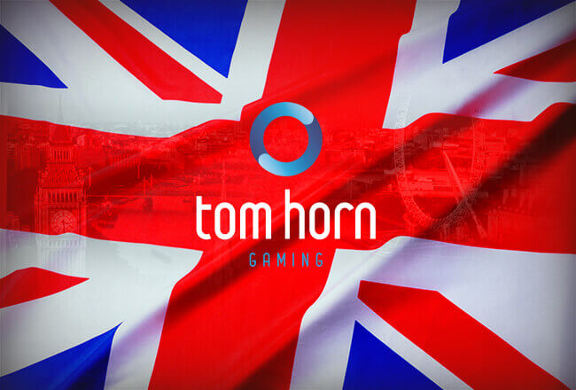 Tom Horn Gaming entered the British gambling market