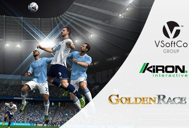 Masters of virtual sports: Golden Race, Kiron, VSoftCo