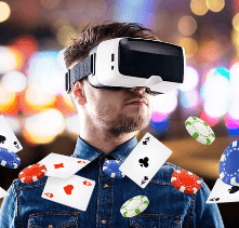 Virtual reality in online casinos. VR operating principle