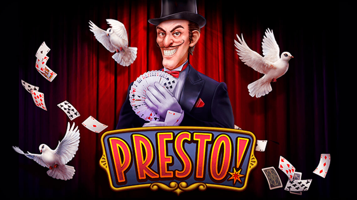 Sleight of hand and no fraud: Habanero releases a new game Presto!