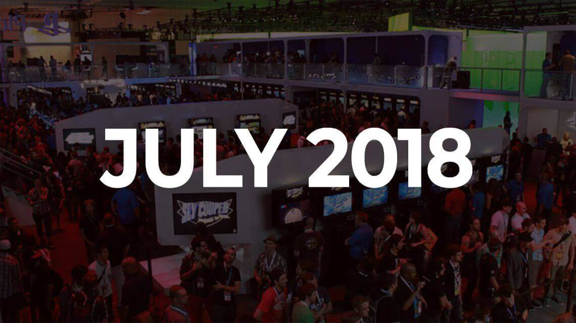 Major Summer iGaming Events. July