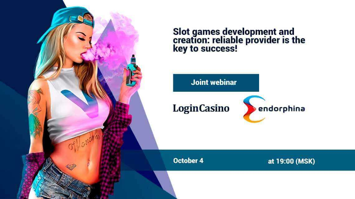 Login Casino and Endorphina Organize a Joint Webinar