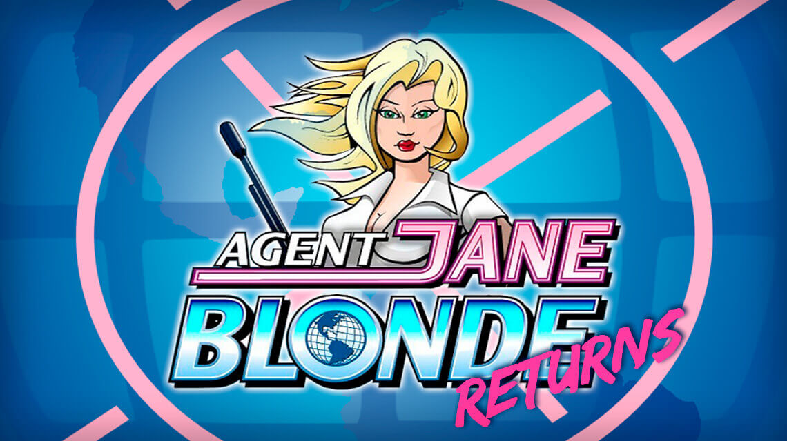 Microgaming Introduced Updated Version of Legendary Slot. Meet Agent Jane Blond Returns!