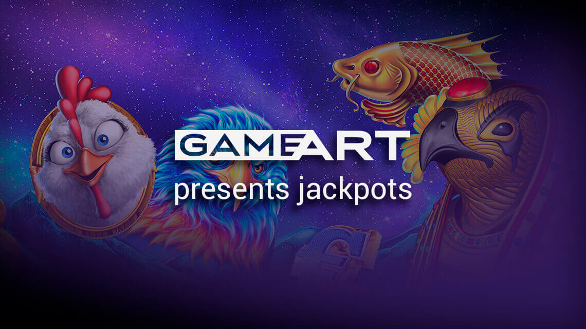 Jackpot Games Announced by GameArt