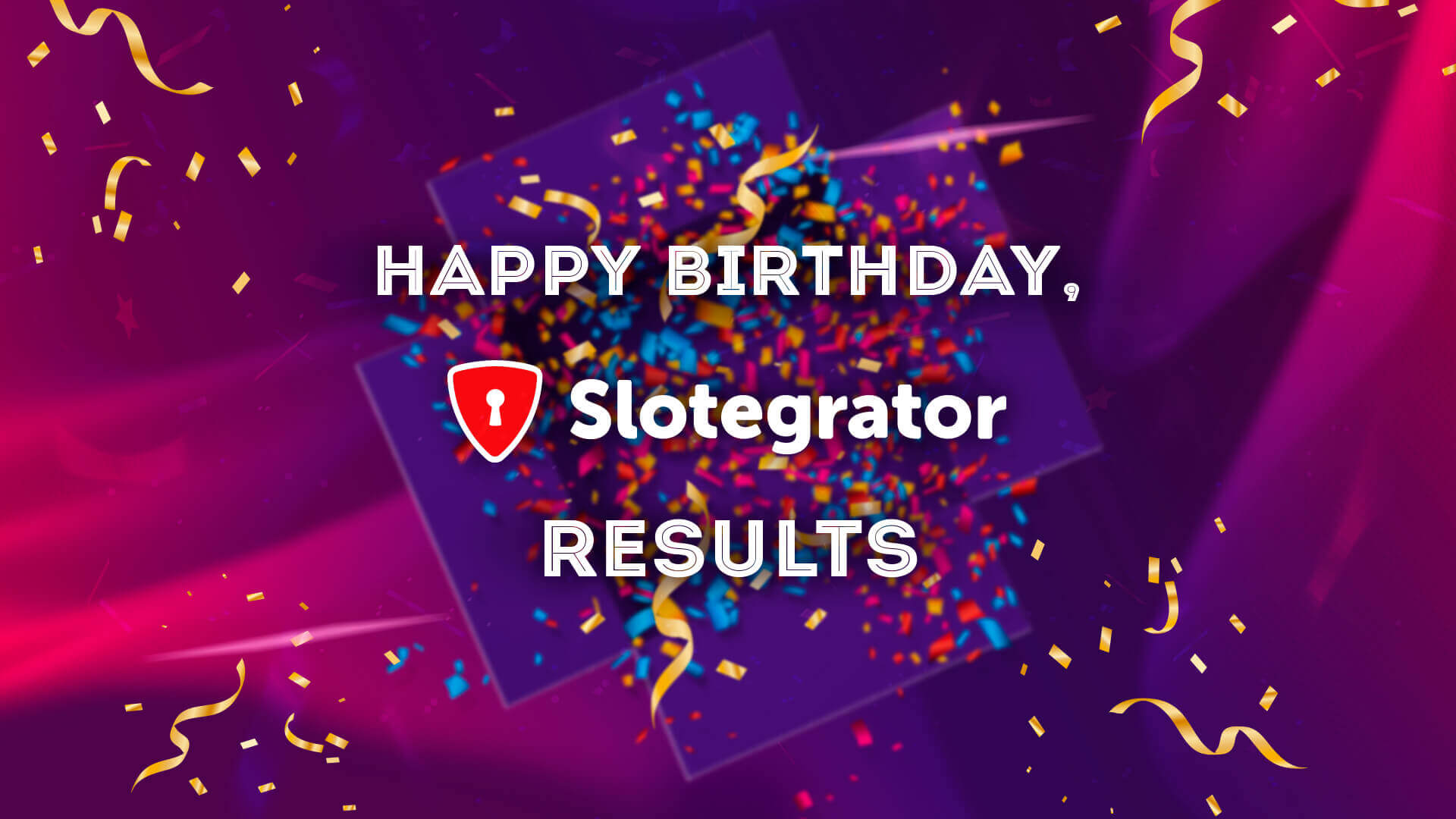 Winners of Slotegrator's 7th Birthday competition